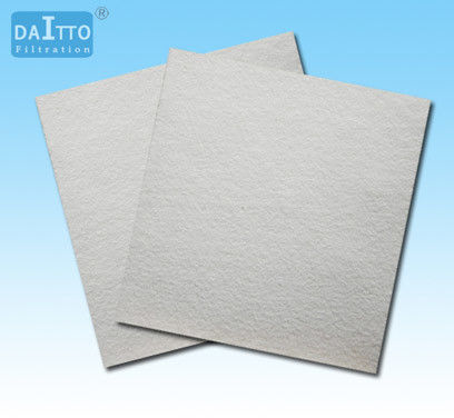 Normal Temperature Polyester Filter Material Easy Cleaning Energy Saving