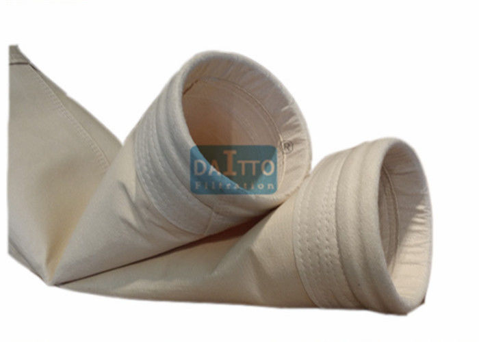 High Efficiency Dust Filter Bag Welded Process Method No Melting Point