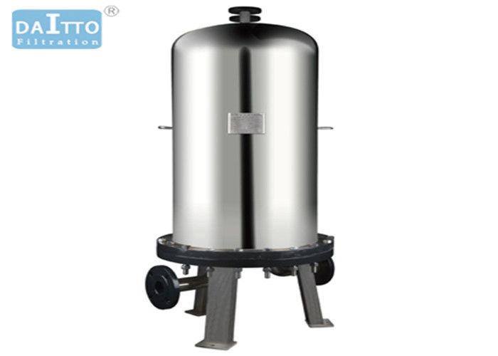 Cartridge Liquid Industrial Filter Housing With Stainless Steel 304 316L