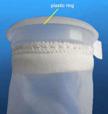 Nylon Polyester Liquid Filter Bags Aquarium Filter Sock With Good Removal Efficiency