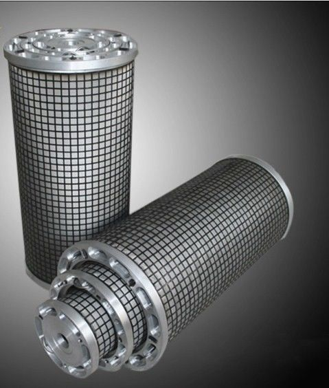 Cylindrical Cartridge Filter Elements High Strength For Marine Applications