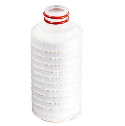 High Performance 22 Micron Pleated Filter Cartridge For Beverage Juice